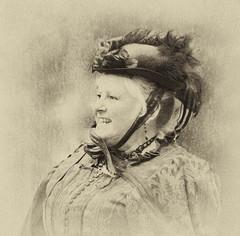 Victorian lady (Gill Stafford) Tags: gillstafford gillys image photograph victorian exstravaganza transport parade wales conwy llandudno lady costume dress