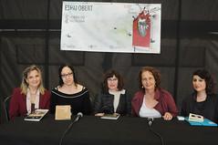 Amparo Andrés Machi, Ana Mª Arroyo, Rosa Montolio, Mar Busquets i Iris Almenara 01/05/2017