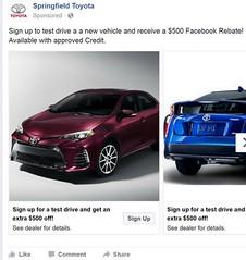 Facebook Automotive Advertising (Drive Social ROI) Tags: automotive facebook ads for car dealers