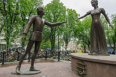 Fountain Romualdo i Pelaheia | Lviv (explorewithmaya) Tags: lviv lwow ukraine europe travel trip travelphotographycanong7x