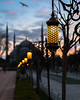 Lantern and Blue Mosque (tat.aks) Tags: ancient arabic architectural architecture asia blue bokeh building city cityscape clouds dusk eastern europe evening famous historic islam islamic istanbul landmark lantern light minaret mosque muslim night old oriental ottoman park religion religious silhouette sky square sultanahmet sundown sunset temple tourism travel turkey turkish urban view