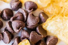 Bliss! HMM! (Thad Zajdowicz) Tags: zajdowicz pasadena california chips macromondays availablelight chocolatechips canon eos 5dmarkiii 5d3 dslr digital lightroom ef100mmf28lmacroisusm 100mm primelens potatochips food macro