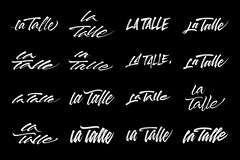 "Variations on the words ""La Talle"" 02."