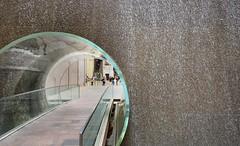 In Through The Wall (Apostolis Giontzis) Tags: manhattan hole wall through ny newyorkcity newyork passing nikon d800e nikond800e architecture glass