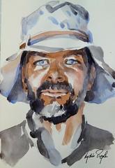 Martin - JKPP (lydie.pieplu) Tags: watercolor aquarelle portrait croquis sketch jkpp