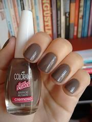 Marrom mutante - Colorama (Mari Hotz) Tags: marrom esmalte nude neutro unha colorama