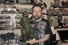 My New Bundle Of Joy (Toyz in the attic) Tags: me godzilla shogunwarriors mattel 1977 gojirah kaiju monster vintage