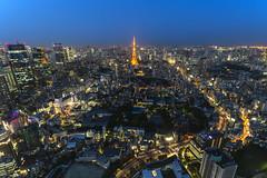 東京シティビュー (Raymond.Ling.43) Tags: 東京シティビュー canon japan 6d nightscene sunset spring may 森タワー52f 六本木ヒルズ roppongihills city observatory