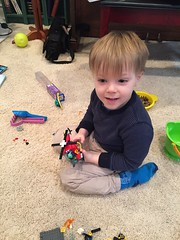 "Paul Plays with Legos • <a style=""font-size:0.8em;"" href=""http://www.flickr.com/photos/109120354@N07/34471616155/"" target=""_blank"">View on Flickr</a>"
