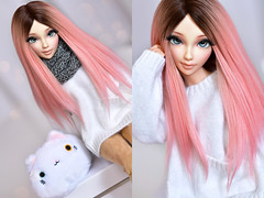 (4arllin) Tags: doll bjd enni rakeru sensei ball jointed alpaca wig