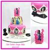 Princess Cake #princess # #designerca#designer #cake #pink #daughter #fondant #newdelhi #gurgaon #noida #cakedelivery #online #buy #order  #delhi #fondant #themed #kidscake (Cake Central-Design Studio) Tags: firstbrthday designercake delhi fondant themed kidscake