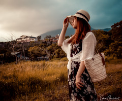 Somewhere in the world (Silverfish Photography ∴) Tags: sunset women girl beauty beautiful fantasies outdoor