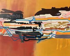 Jim Harris: Untitled. (Jim Harris: Artist.) Tags: art arte peinture painting abstract abstractart konst künstler kunst geometric geometrický neogeo contemporaryart modernart space weltraum cosmos cosmology málverk maalaus malerei