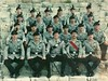 Royal Irish Regiment.- British Army Soldiers in Cyprus .. 1993. (mrvisk) Tags: old irish history uniforms boots platoon men squad happy faces content caubeens military infantry pic groupshot killaloe ireland duty