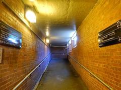 Underpass (sander_sloots) Tags: underpass chatham station melbourne boroondara tunnel onderdoorgang victoria sodium lamps wallpack armaturen natriumlampen hogedruk hps high pressure bulkhead surrey hills canterbury road luminaires