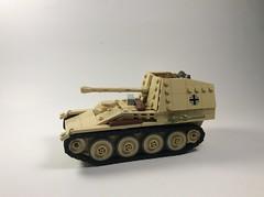 Marder III Ausf M (mjbricks(flose master)) Tags: panzer tank tan brickarms marder iii lego
