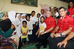 Program sentuhan rakyat bersama pimpinan tempatan.Kg.Limbong,Paka,Terengganu.16/4/17