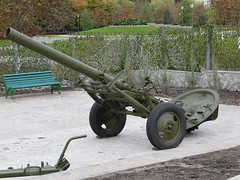 "160mm mortar M-160 1 • <a style=""font-size:0.8em;"" href=""http://www.flickr.com/photos/81723459@N04/34605908685/"" target=""_blank"">View on Flickr</a>"