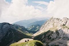 clouds and peaks (-Mina-) Tags: film analog minolta switzerland mountains nature landscape mountpilatus peaks clouds