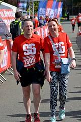 Erica finishes the race (James O'Hanlon) Tags: btr runfor96 run for 96 runforthe96 liverpool stanley park 5k race event lfc 2017 stars vip jft96 jft