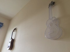 2017 (Day 136 - 16th May): Ukuleles on the wall