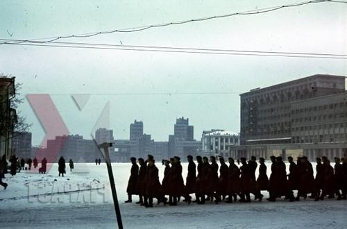Харьков площадь Дзержинского Годы оккупации 1942-1943