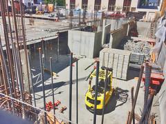 Downtown construction project laying rebar_HDR (Lynn Friedman) Tags: sanfrancisco downtown construction rebar urbanrenewal architecture foundation 94103 favstock
