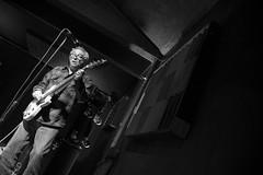 Mike Watt / The Jom & Terry Show (Notley) Tags: httpwwwnotleyhawkinscom notleyhawkinsphotography notley notleyhawkins 10thavenue monochrome blackandwhite mikewattthejomterryshow mikewatt bassplayer concert concertphotography rosemusichall columbiamissouri 2017 may