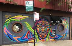 Native in Situ by Guache (wiredforlego) Tags: graffiti mural streetart urbanart logansquare chicago illinois ord guache