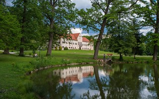 lake & castle - Lužnica (03)