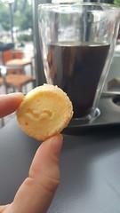 20170528_120658 (cappion-jays) Tags: foodspotting sofia bulgaria dessert cookie coffee americano