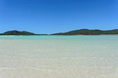 Whitsunday Islands, Australia - Whitehaven Beach (Paradise On Earth) (GlobeTrotter 2000) Tags: queensland australia tropical paradise prostine water clear summer vacation travel tourism whitsunday island sea beach white airlie whiteheaven seaside