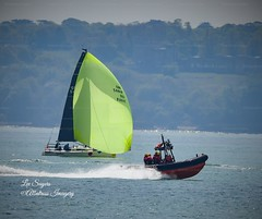 Solent sailing. (Albatross Imagery) Tags: thesea fun photo photography flickr instagram rib sailingboat yachts yacht sea england hampshire uk solent rnli boats boating boat sailing