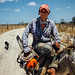Farmer on Mule With Chainsaw, El Abra Colombia