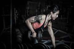 Build Yourself ! (Yelliholm) Tags: sport girl steel gym fitness portrait awesome