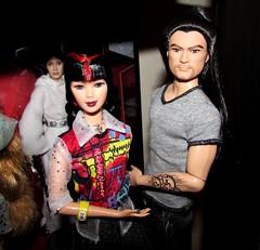 Japanese are cool people (Nickolas Hananniah) Tags: barbiedoll barbie doll asian japanese generation girl generationgil mari mariko generationgirlmariko generationgirlmari ken kendoll maledoll asienmaledoll kenjapan kensamurai lea leaorgana leaactionfigure disney toy toys collectabledoll princess leia