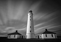 Blue Lias (twenty8solo) Tags: darrenjamesphotography longexposure blackandwhite lighthouse nashpoint wales