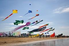 cerf-volant 06 (gilles207) Tags: festival cerfvolant 17 chatelaillon plage mer ciel jeu vent charente maritime couleurs