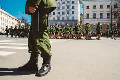 Репетиция парада Победы в Нижнем Новгороде (tirimaria) Tags: 9may парад победа girls военные солдат девушки