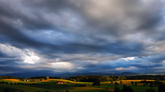 Clouds magic (ej - photography) Tags: landscape landschaft abend evening sonnenlicht sunlight olympus em5 schweiz suisse svizzera switzerland omd shadow natur nature clouds wolken mzuiko schatten sunset sonnenuntergang
