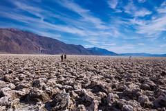 Devil's Golf Course (cgahn) Tags: geology salt deposit evaporite mineralogy minerals deathvalley california sky clouds mountains desert science nature outdoors