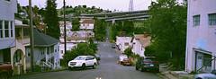 Crockett, California (bior) Tags: crockett carquinez carquinezstrait street xpan hasselbladxpanii kodakgoldplus100 goldplus100 carquinezbridge hill
