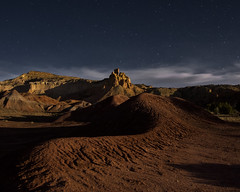 Ghost Ranch nightscape (Mitch Tillison Photography) Tags: ghostranch chimneyrock landscape nightscape starscape stars night nighttime abiquiu newmexico georgiaokeeffe mitchtillison photo photography pentax k3