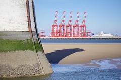 new brighton perch rock lighthouse and Liverpool 2 (davegore2005) Tags: newbrighton