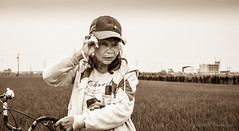 ...in the rice fields (steve: they can't all be zingers!!! (primus)) Tags: d610 nikond610 afsdxnikkor35mmf18g 35mm primelens primenikkorlens prime sepiatone sepia monochrome taiwan shengang lightroom lightroom6