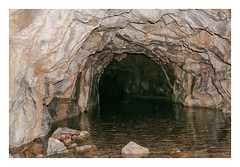 Swainsley copper mine (-klik-) Tags: mine dark hole