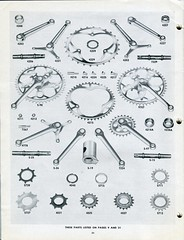 Schwinn Catalog - Bicycle Parts & Accessories - 1948/49 - Page 30 (Zaz Databaz) Tags: schwinn schwinncatalog 1948 1949 40s 1940s bfgoodrich