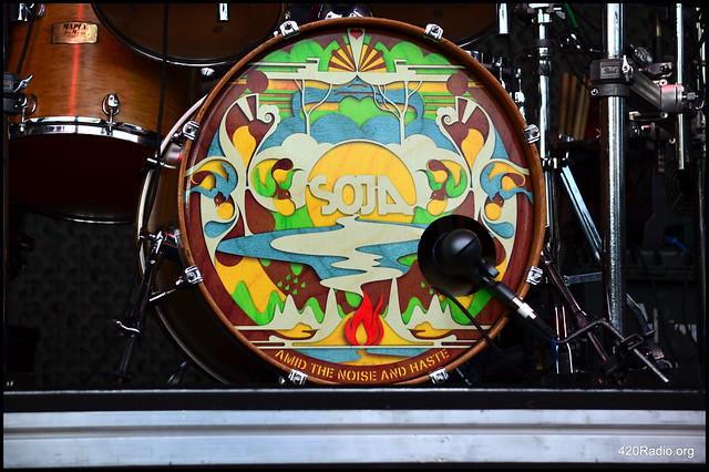 SOJA - Cuthbert Amphitheater - Eugene, OR - 06/17/16