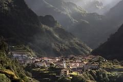 Madeira - late afternoon (zenofar) Tags: nikon d810 tele portugal madeira dorf ortschaft monumental berge licht schatten konturen nachmittag village town mountains light shadow contours afternoon