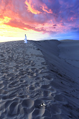 Mirage (Laurent BASTIDE Photographies) Tags: dune desert sahara pyla ocean sky beauty sunset sun light sand landscape nature wild